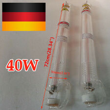 Tubo laser sigillato a 40W per raffreddamento ad acqua per incisore laser CO2