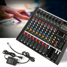 8 Channel bluetooth Live Studio Audio Mixer Mixing Console Usb Stage/Live Sound