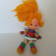 "Vintage Rainbow Brite 11"" Doll with Dress Hallmark Plush and Vinyl"