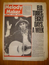 MELODY MAKER 1978 MAR 25 TUBES ELECTRIC LIGHT ORCHESTRA