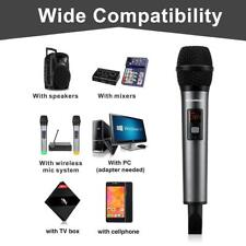 Karaoke Wireless Microphone Bluetooth Handheld Mic System With USB Adapter NEW