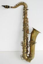 Antique ROYAL ARTIST Bruno NY Saxophone & Case. C Melody BEAUTIFUL & RARE