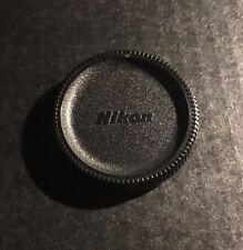 Rare Vintage Nikon F Camera Body Cap