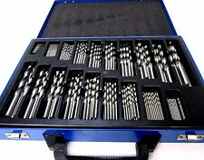 Bergen 170pc Twist Drill Bit Set Metric HSS 1 mm - 10 mm dans valise 2522