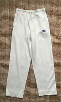 """Gunn And Moore Cream Cricket Trousers - Size Small S / 26-28"""" Waist"""