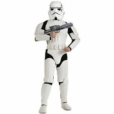 Buyseasons Star Wars Mens Deluxe Stormtrooper Halloween Costume - One Size