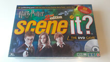 Harry Potter Scene It? 2nd Edition Game by Mattel - 2007 Edition - 100% Complete