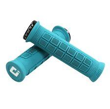 Elite Pro - Yeti Cycles x ODI Elite Pro Grips - Turquoise, Lock-On - Grip