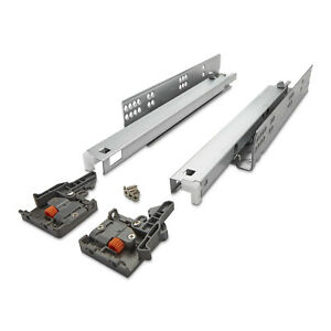 Vollauszug UV2-35-K1D-SC mit Soft-Close f. Holzschubkasten Schubladenauszug