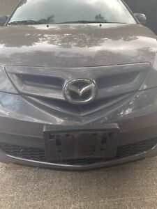 Mazda 3 Hatchback Front Bumper Cover 2007-2009  LOCAL Pickup only