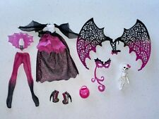 Monster High Draculaura Ghouls Rule Clothes and Accessories Read Description Pls