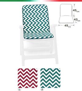 Cushion Cover Chair Garden Universal Striped Zig Zag Cotton Plunge Soft