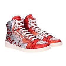 Moschino MOCOLA High Sneakers EU 39 scarpe donna uomo pelle vitello SCONTO 70%