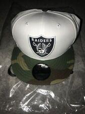 NEW ERA. 9fifty Snapback. Oakland Raiders. White/ Camo.
