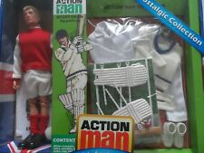 VINTAGE ACTION MAN 40th SPORTSMAN GRASS STAND for FOOTBALLERS X 5