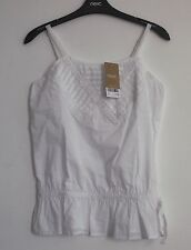 Next Women's Cotton Vest Top, Strappy, Cami Tops & Shirts