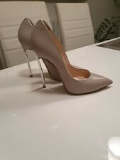 CASADEI WOMENS LEATHER SHOES SIZE; EU 38 UK 5 US 8 with box