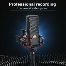 Microphone 240Pro 16mm Gold-plated Film Condenser Kit for Studio Live Broadcast