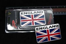 BRITISH FLAG METAL 3D EMBLEM DECAL STICKER LOGO FOR CARS UNION JACK USA SELLER