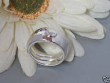 Neu Pierre Cardin 925 Silber Ring Bandring Zirkonia Amethyst lila Damen