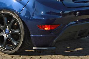 Heckansatz Diffusor Spoilerecken Seitenteile Splitter ABS für Ford Fiesta JA8