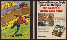 COLLANA COWBOY PICCOLO RANGER 203 LA FUGA - OTTOBRE 10/1980