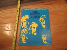 The Moody Blues Sheet Music  Book
