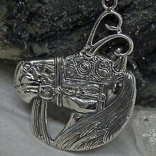 Brigid Ashwood Keltisch Pferd .925 Sterlingsilber Verpackt Set von Peter Stone