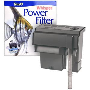 Tetra Whisper 30 Power Filter Eliminates Toxic Ammonia & Nitrites 10 to 30 Gal