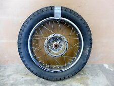 1981 Yamaha SR250 Y614. rear wheel rim 16in