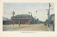 DERRY NH - Railroad Square