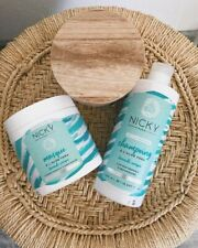 NICKY Paris - shampoing Gamme Aloe Vera + masque capillaire gamme Aloe Vera
