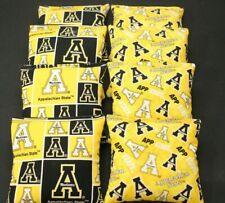 Appalachian Mountaineers 8 Cornhole Bean Bags ACA Regulation Quality Made