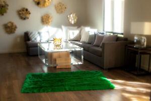 Rug Faux fur rug KELLY G  Shaggy rectangle plush Sheepskin Bedroom living room
