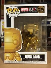 Marvel Studios 10th Anniversary - Iron Man #375 Gold Chrome Pop! Vinyl