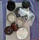 10 RICAMBI originali MACCHINA CAFFE  ARIETE CAFE RETRO e altre sottocoppa filtri