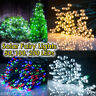 100 200 300 LED String Solar Powered Fairy Lights Outdoor Home Decor Waterproof
