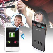 Wireless Bluetooth  MP3 FM transmitter Car Kit Speaker Hands-Free Speakerphone