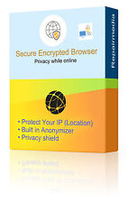 Secure Internet Browsing IP Anonymizer Software Protect Privacy Location DVD PC