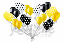 24pc Bumblebee Inspired Latex Balloons Party Decoration Baby Shower Birthday Bee