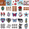 1-100pcs Embroidery Sew Iron On Patch Badge Fabric Bag Clothes Applique Craft