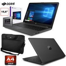 "PC PORTATILE NOTEBOOK HP 255 G7 SSD 256GB 15.6"" WEBCAM HDMI WINDOWS 10 PRO BORSA"