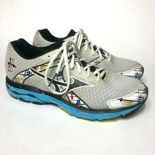 Mizuno Wave Inspire 10 Women's Size 9.5 Athletic Running Shoes White/Blue