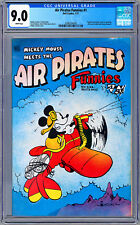 AIR PIRATES FUNNIES #1 CGC 9.0 RARE MICKEY MOUSE *BANNED BY DISNEY LAWSUIT* 1971