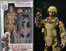 12-inch Figure Model Desert Camo ACU Special Forces 1/6 Super System Soldier Toy