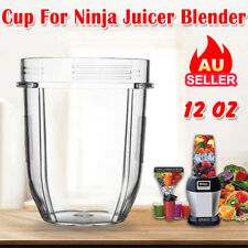 Juicer Accessories Blenders Cups For Nutri Ninja Spare Parts 12OZ Fast AU Ship