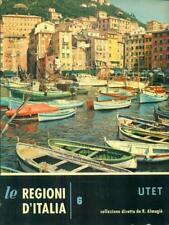 LIGURIA  CLAUDIA MERLO UTET 1961 LE REGIONI D'ITALIA