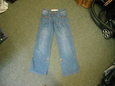 """Next Slouch Jeans Size 6 Leg 31"""" Faded Dark Blue Ladies Jeans"""