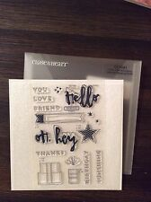 Close To My Heart CC1041 Hello, Life-Cardmaking National Stamping Month NIP