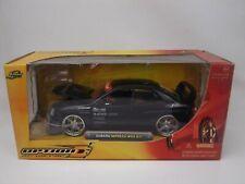 Jada Toys 1:24 SUBARU IMPREZA WRX STI Black Jdm sports car